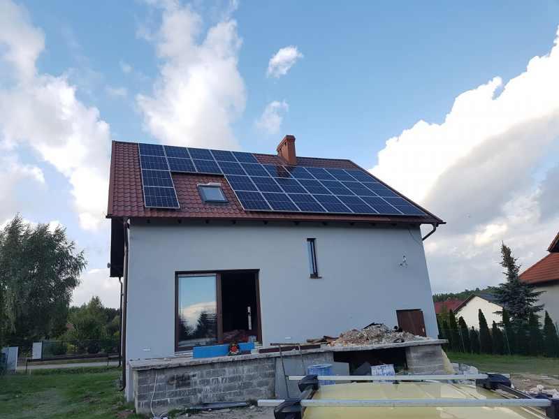 budowa instalacji fotowoltaicznej poznań domu jednorodzinnego